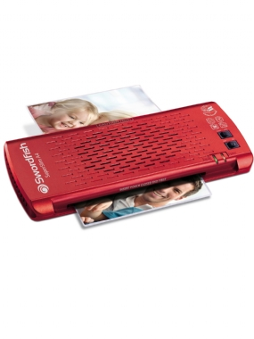 SuperSlim A4 Laminator Red