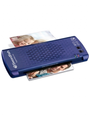 SuperSlim A4 Laminator Blue